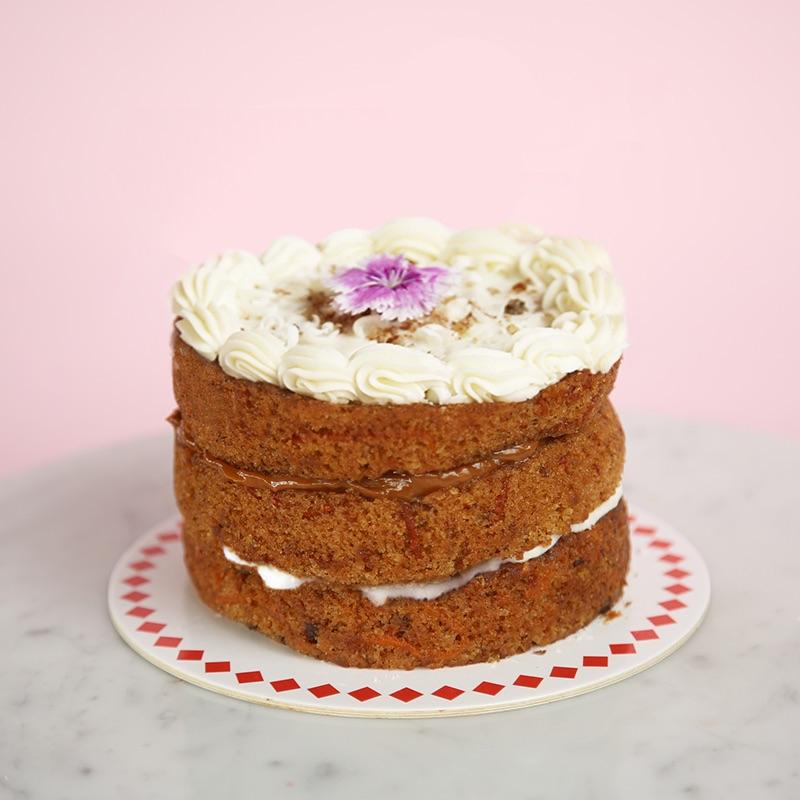 minimaria de carrot cake