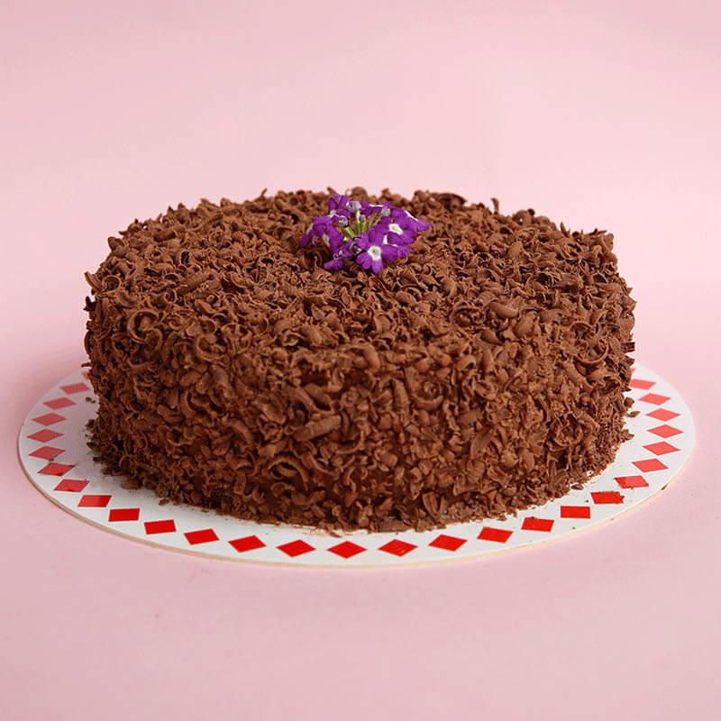 la clásica torta de chocolate